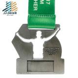 亜鉛合金のDebossの昇進ロゴの金属のクラフトのカスタム記念品メダル