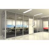 Piso a techo Fosted moderno de vidrio desmontable de la partición de la Oficina (SZ-WS577)
