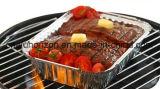 Биоразлагаемые свежего мяса лоток из алюминиевой фольги