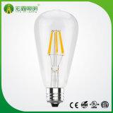 Желтые Vintage подвесной светильник из стекла в стиле St64 светодиодная лампа накаливания
