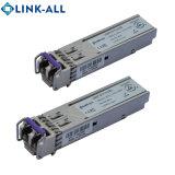30dB 1,25 gbb 120km/S DWDM de fibra óptica módulo transceptor SFP