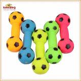 Giocattoli del PVC del vinile dell'animale domestico/giocattolo dentali Dumbbell del cane (KB1083)