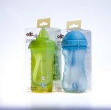 緑のプラスチック透過ペットプラスチックの箱