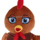 Jouet bourré par poulet d'animal de ferme de peluche de Big-Eyes