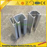 6063 6061 RAM Cabos de alumínio de cortina de extrusão de alumínio para Guid Rail