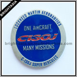 2 -, котор встали на сторону монетка сувенира металла для подарка Айркрафт (BYH-101170)