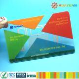 Double fréquence EM4423 NFC et carte à puce RFID UHF