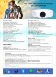 携帯用スマートな3300の内腔Proyector LED完全なHD 3D Beamer