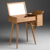 Haya de vestir de almacenamiento soporte de madera para muebles de madera