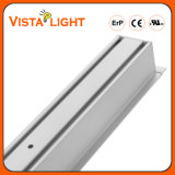 학교를 위한 알루미늄 밀어남 LED 펀던트 선형 천장 빛