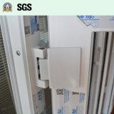 Indicador branco do Casement do perfil da cor UPVC com fechamento aluído K02051
