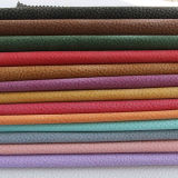 Кожа сумок PVC PU зерна Litchi высокого качества (FS703)