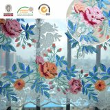 Buntes Blumen-Spitze-Gewebe, Stickerei-Blumenmuster für Kleid und Hochzeit C10038