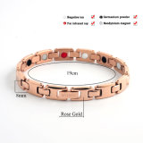 Couple Design Tungsten Steel Germanium Nagative Ion Bracelet