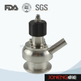 Válvula de muestra asimétrica asimétrica de acero inoxidable (JN-SPV1004)