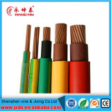 Fil de cuivre électriques, commerce de gros câbles, câble électrique avec la couleur en option