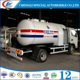 良質2.5mt LPGのプロパンのガスタンクのトラック