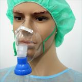 Hospital de nebulizador con la máscara
