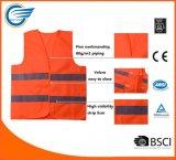Vestíbulo de segurança reflexivo de segurança de alta visibilidade para segurança