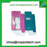 Rectángulo de regalo plegable impreso modificado para requisitos particulares del juguete de la historieta con la ventana del PVC