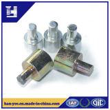Rebite contínuo de aço chapeado zinco colorido para acessórios do molde