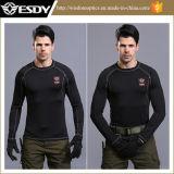 Formação leve militar de lingerie térmica de manga comprida Camisas Quente