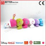 Matériel de sécurité animal en peluche jouet pour bébé Caterpillar