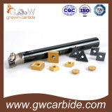 CNCの回転ツールの挿入