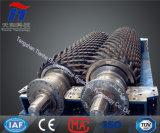 健康な鉱山または粘土のボイラー燃料のための二重ロールまたはローラー粉砕機
