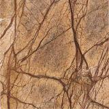 Tegel van de Steen van het Regenwoud van de invoer de Gouden Bruine Marmeren voor de Decoratie van de Vloer