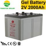 Fornitori della batteria del gel di potere 2V 2000ah VRLA del Yangtze