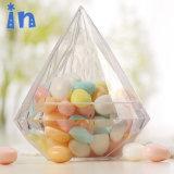 Commerce de gros bonbons Boîte cadeau de mariage de l'acrylique Afficher boîte avec couvercle
