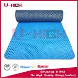 Nid d'abeilles duel de couleur sur le couvre-tapis d'exercice de couvre-tapis de yoga de bande de partie antérieure
