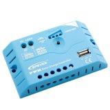 Régulateur solaire d'Epever 5A-12V USB-5V/1.2A pour le système solaire Ls0512EU