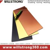 외부 벽 클래딩을%s 알루미늄 합성 위원회 PVDF 코팅