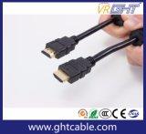 Koper 3m de Kabel van de Hoge snelheid HDMI met de Kernen van de Ring 1.4V
