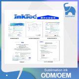 한국 제조 안료를 위한 전사지 잉크를 인쇄하는 빠른 건조한 디지털 잉크 제트