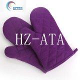 Fördernde hitzebeständige Baumwollmikrowellenherd-Handschuhe für Küche