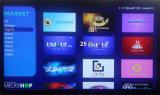 Nuevo modelo Smart Android TV Box combinar DVB con IPTV