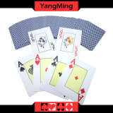 100% scheuern Plastiktexas Holdem Verein eingesetzte der Schürhaken-Spielkarten Zeichen Belüftung-Karte Ym-PC04