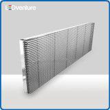 costruzione trasparente di vetro della facciata della visualizzazione di LED pH20