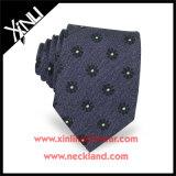 Laço de seda 100% de seda artesanal Jacquard para homens