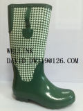 Señoras Rainboots de la manera de la alta calidad