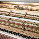 Piano vertical Ka-125W, Brown Piano, provenientes da China