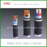 Pvc isoleerde de Elektrische Kabel van de Draad van het Koper