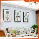 居間の装飾的な絵画フレームの絵画