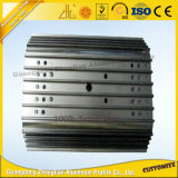 6063t5 Profil en aluminium anodisé pour le processus de CNC