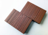 Decking compuesto plástico de madera de la coextrusión ultrabaja al aire libre del mantenimiento