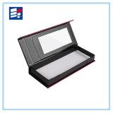 Caja de embalaje de regalo de cartón rígido biselado con cinta para cosméticos