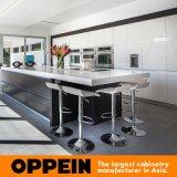 Meubilair van de Keuken van het Eiland van de Melamine van Oppein het Moderne Houten (OP16-PN1)